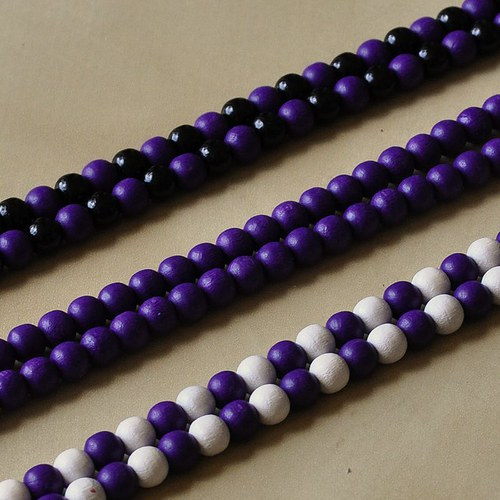 COLORES - violet, white and black