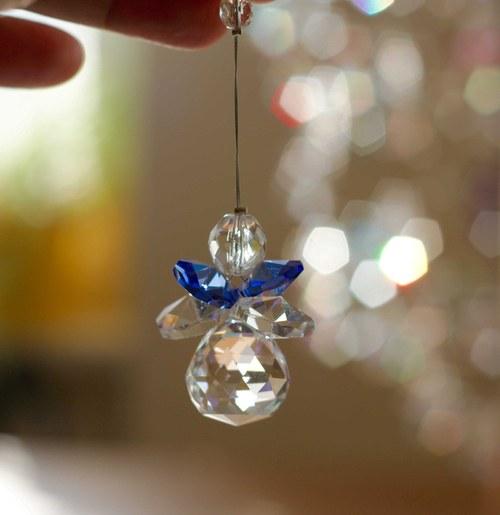 Andělíček modrý
