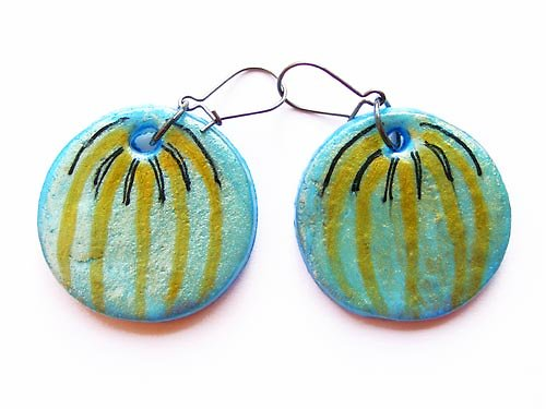 Modré melounky