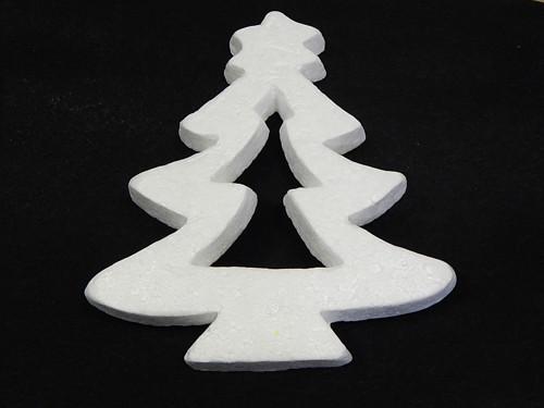 Polystyren, Strom vykrojený