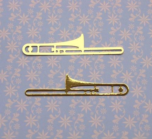 Dva pozouny (pravý, levý)