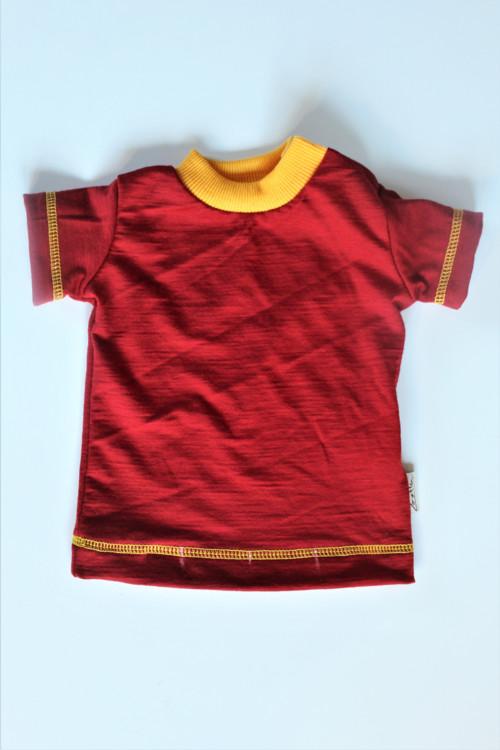 Rostoucí tričko -LETNÍ MERINO-více barev