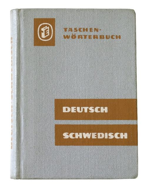 SLOVNÍK - WÖRTERBUCH DEUTSCH SCHWEDISCH