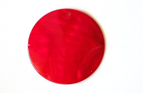 241 perleťová placka  růžová