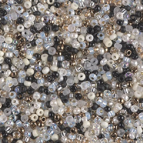 MIX Miyuki Seed Beads 8/0 - Mix Granite, 10g