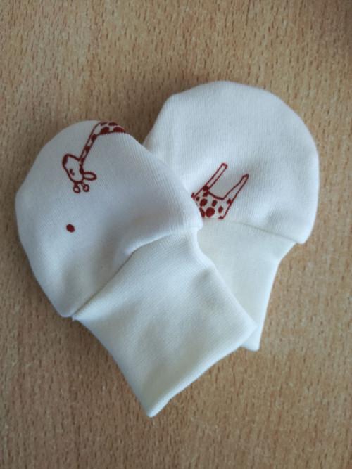 kojenecké rukavičky