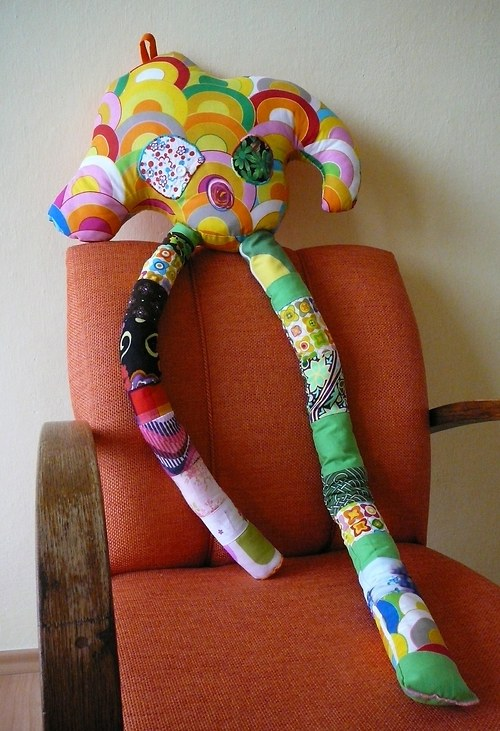 Polštář-hračka-dekorace