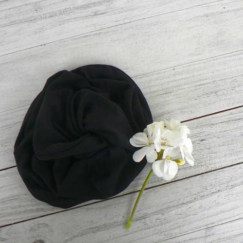 Multifunkční šátek bambus - černý tunel