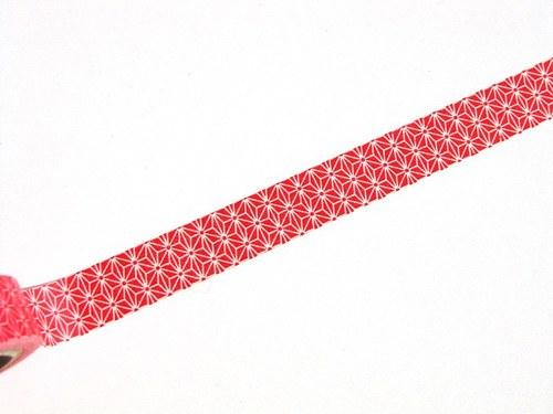 Páska: Červené hvězdičky I. (1,5 x 33 cm)