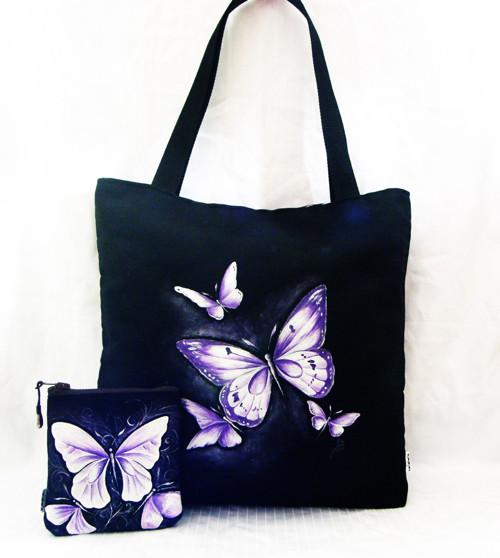 s motýlky na nákup
