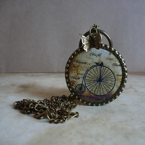 Podzimní projížďka - náhrdelník