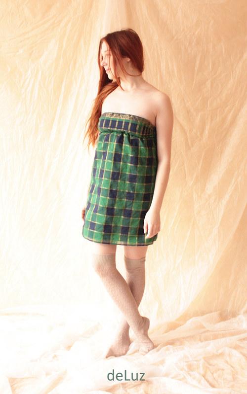 Šaty Scottish Girl XS/S...velká sleva