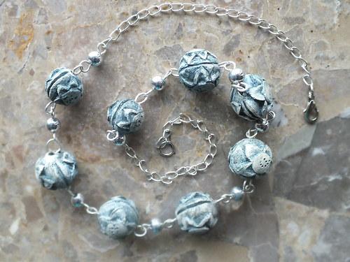 Keramický šperk - slzy mořské panny