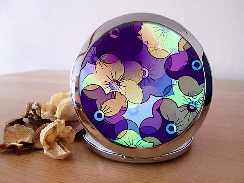 Kapesní zrcátko - S vůní fialek