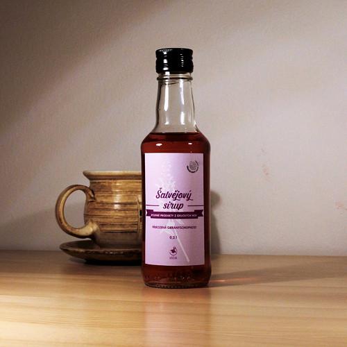 Šalvějový sirup (200 ml)