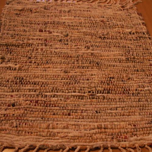 tkaný kobereček - hadrák - více barevný světlejší