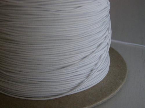 gumička kulatá bílá 0,8 mm - 10 m