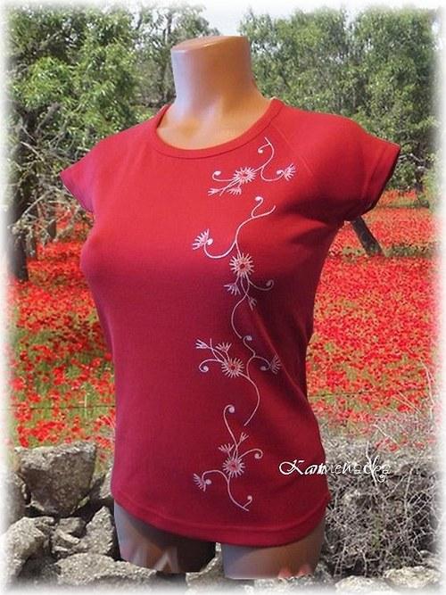 Dámské tričko s bodlákem