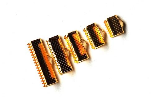 koncovky na kůže 10ks- 8x16mm