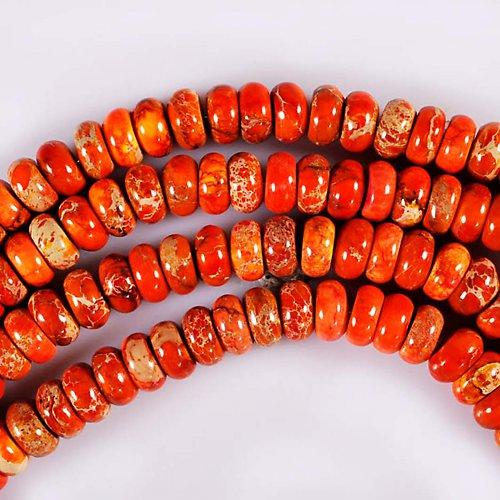 Oranžový variscit - 5x10mm