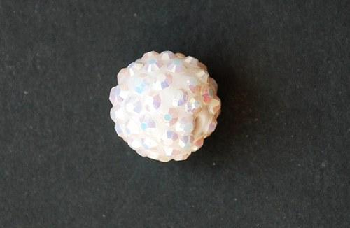 kulička 16mm- bílá