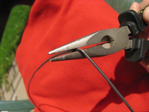 Černý žíhaný drát - průměr 1 mm - 1kg (cca 166 m)