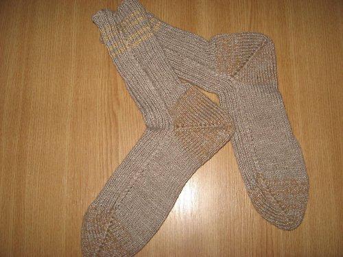 Béžovky tmavší-ponožky