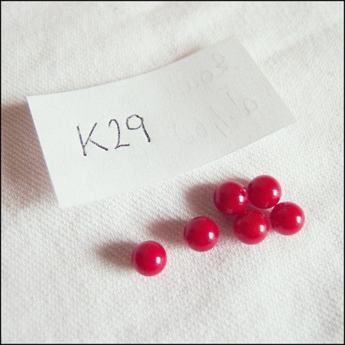 Jadeit K29 - 5 mm (3 ks)