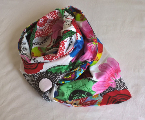 Bavlněný šátek (tunel) MANDALY