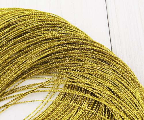 30m 98ft 32yrd Kovové Zlato Závit Kabel Twisted Pl