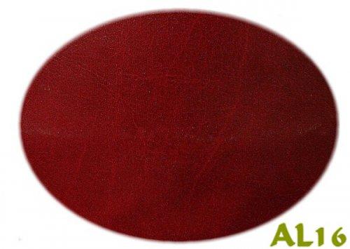 AL16  Textilní kůže - koženka bordó žíhaná, á 1m