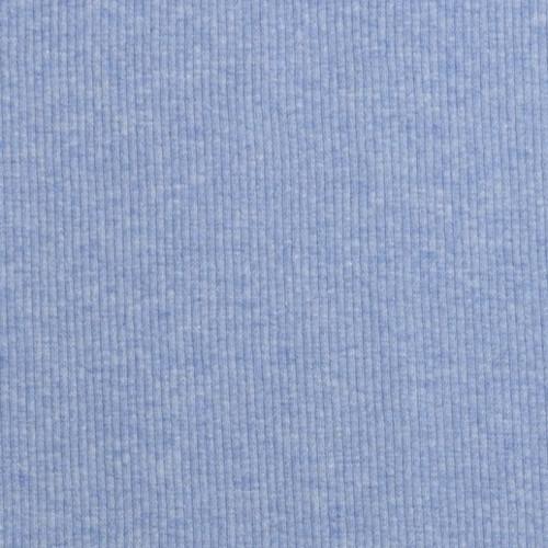 Zbytek - Náplet žebrovaný, modrý, 10 cm