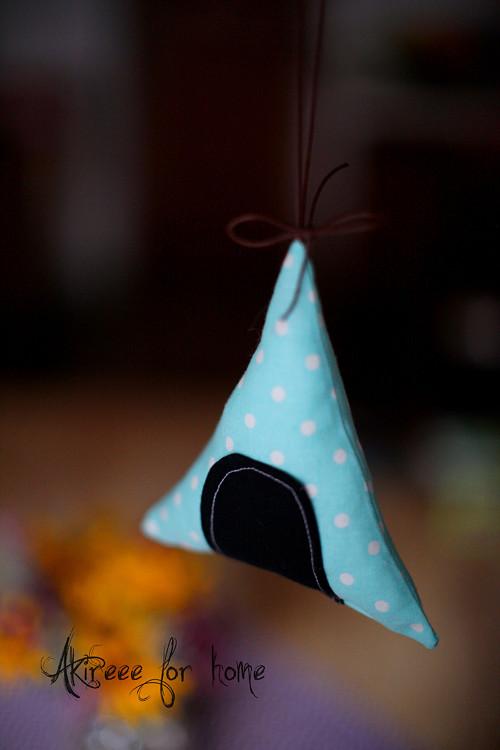 Mini teepee - dekorace