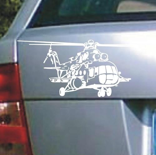 Samolepka vrtulník II.
