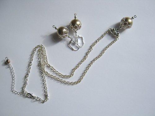Golden pearls souprava