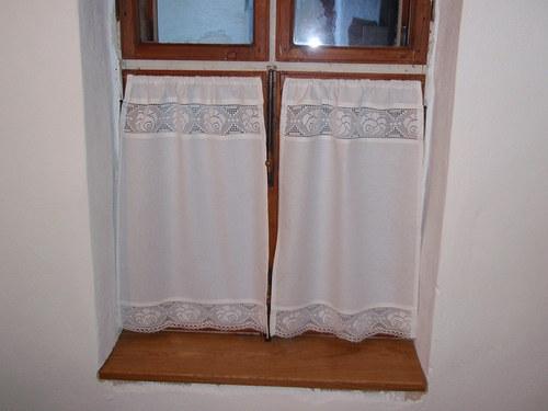 Záclonky na stará okna