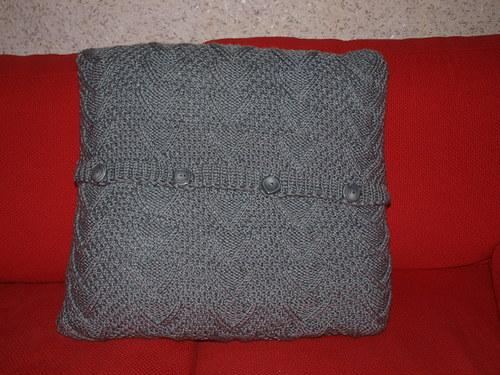 vlněný povlak polštář