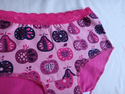 Kalhotky růžová jablíčka č. 67