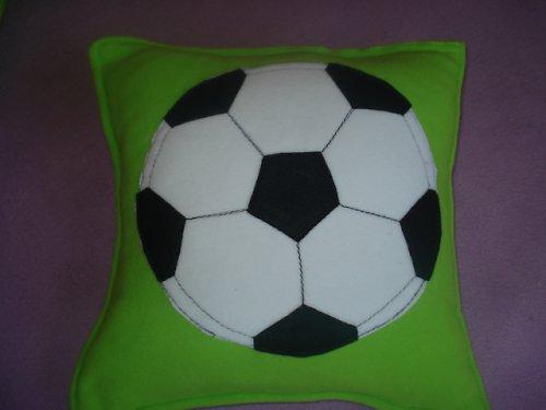 Polštář Fotbal černý