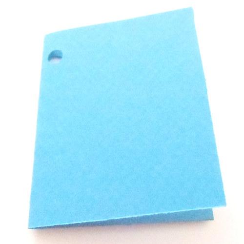 Visačky,  jmenovky pro další tvoření, modré