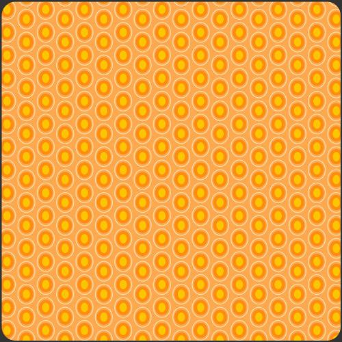 Látka Oval Elements Papaya Orange 901