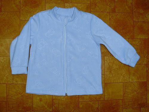 Kabátek na zip-medvídkový v.80-98