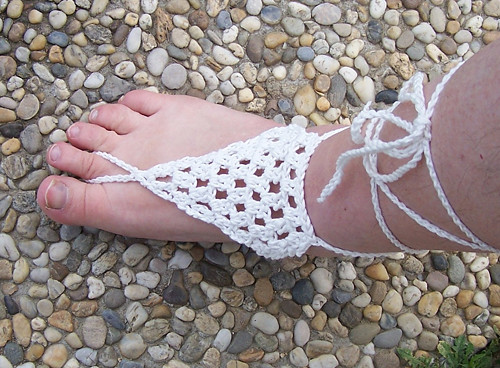 Nákotníčky, barefoot sandálky