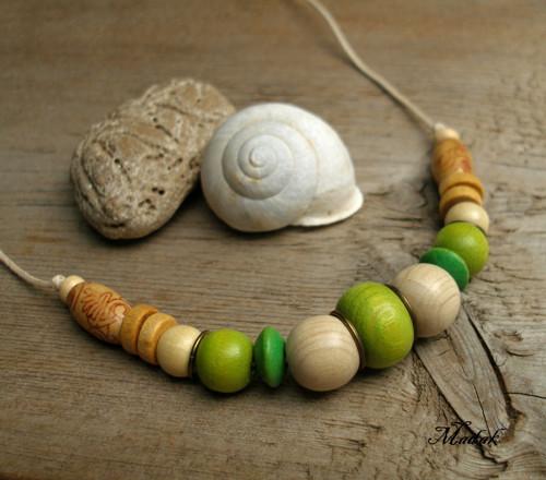 Kolekce Flowering wood LXI. ... náhrdelník