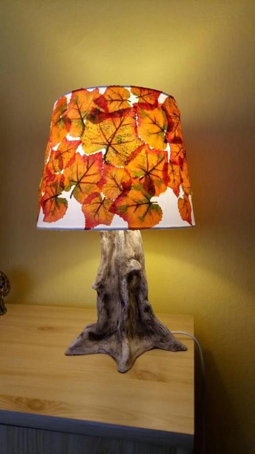 Podzimní lampička