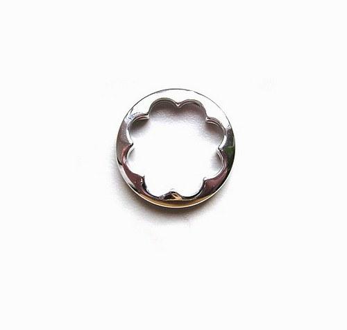 Ozdobný kroužek, 25 mm - 1 kus