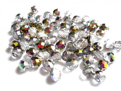 Broušená kulička krystal vitrail 7mm