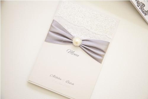 Luxusní svatební menu Glitter