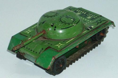 IGRA - Plechový TANK mini - 60.tá léta