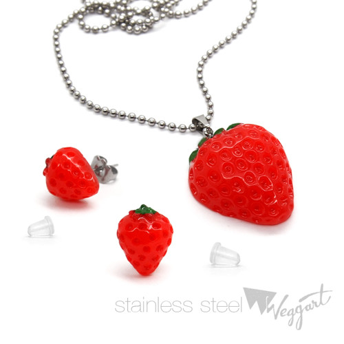 Strawberry Fields komplet / Nerezová ocel